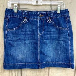 ✨Old Navy Denim mini skirt size 4
